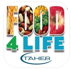 Food 4 Life App button