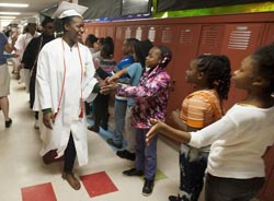 179 shares Jackson High seniors visit old stomping grounds, reminisce