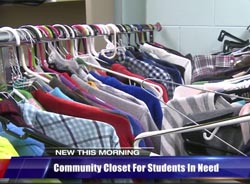 WILX TV photo of Community Closet